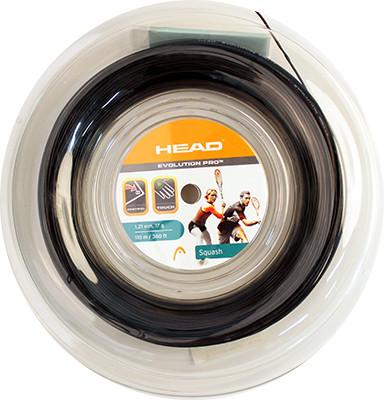Squash strings Head Evolution Pro (110 m) - black