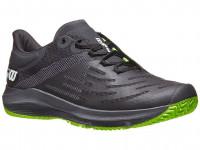 Męskie buty tenisowe Wilson Kaos 3.0 - black/ebony/blade green