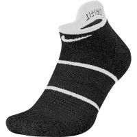 Socks Nike Court Essential No Show - 1 para/black/white/white