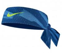 Traka za glavu Nike Dri-Fit Head Tie Reversible M - court blue/dutch blue/volt