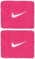 Nike Swoosh Wristbands - vivid pink/white