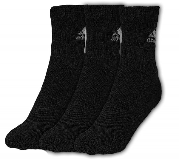 Skarpety tenisowe Adidas Adicrew HC 3pp - 3 pary/black