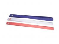 Opaska na głowę Adidas Hairband 3PP - orbit violet/white/solar red