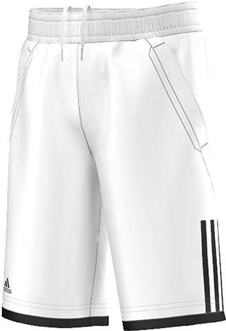 Poiste šortsid Adidas Club Bermuda - white/black