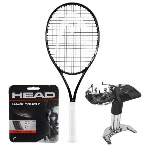 Teniso raketė Head Graphene 360+ Speed Pro Black + stygos + tempimas