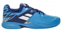 Juniorskie buty tenisowe Babolat Propulse Clay Junior - dive blue