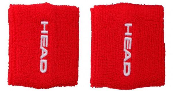 """Frotki Tenisowe na nadgarstki Head Wristbands 2.5"""" - red-"""