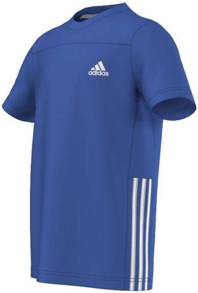 Poiste maika Adidas YB G GU Tee - blue/white