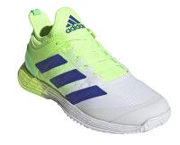 Muške tenisice Adidas Adizero Ubersonic 4 M - signal green/sonic ink/white