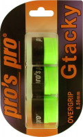 Pro's Pro G Tacky (3 vnt.) - neon green