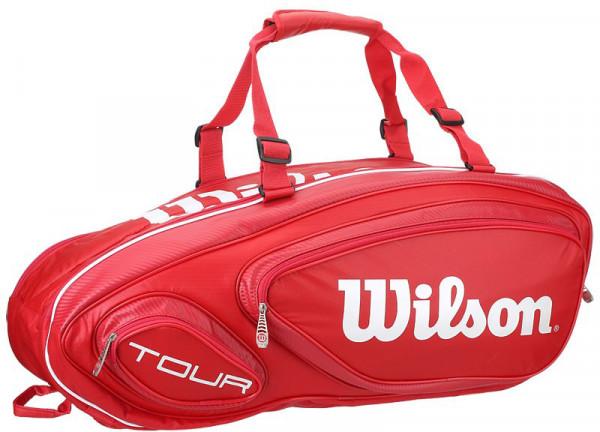 Wilson Tour V 9 Pk - red