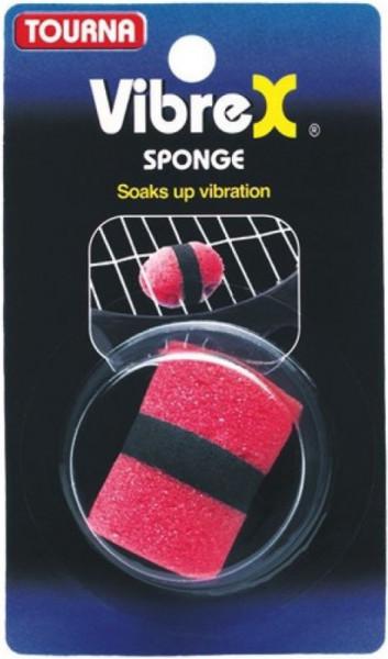 Tenisa vibrastopi Tourna Vibrex Sponge - red