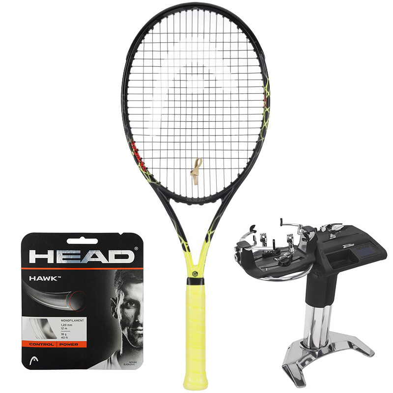 Head Graphene Touch Radical MP Ltd (25 Years) + naciąg + usługa serwisowa