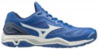 Buty do squasha Mizuno Wave Stealth V - blue/white/navy