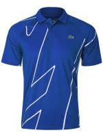 Męskie polo tenisowe Lacoste Novak Djokovic Melbourne Polo - blue/white
