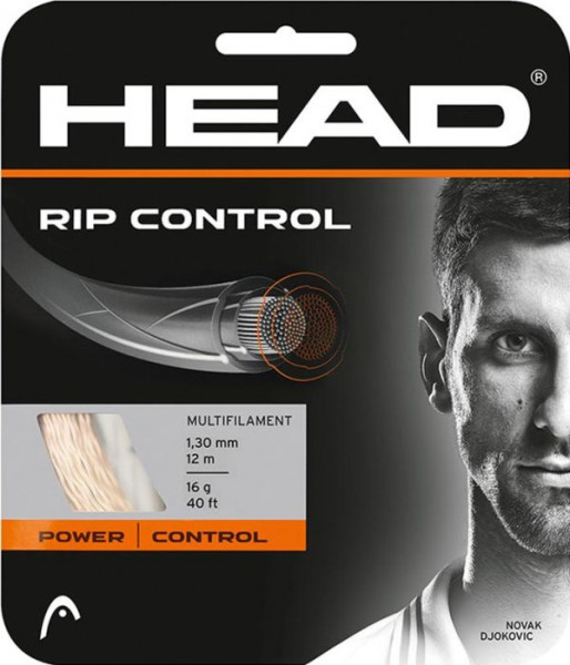 Tennisekeeled Head Rip Control (12 m) - natural