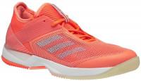 Damskie buty tenisowe Adidas Adizero Ubersonic 3 W - chalk coral/aero blue/hi-res orange