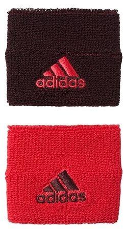 Adidas Tennis Wristband S (OSFM) - dark burgundy/dark burgundy