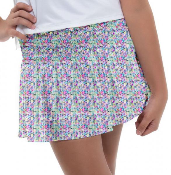 Tenisa svārki meitenēm Lucky in Love Novelty Pring Sun Chaser Smocked Skirt Girls - multi