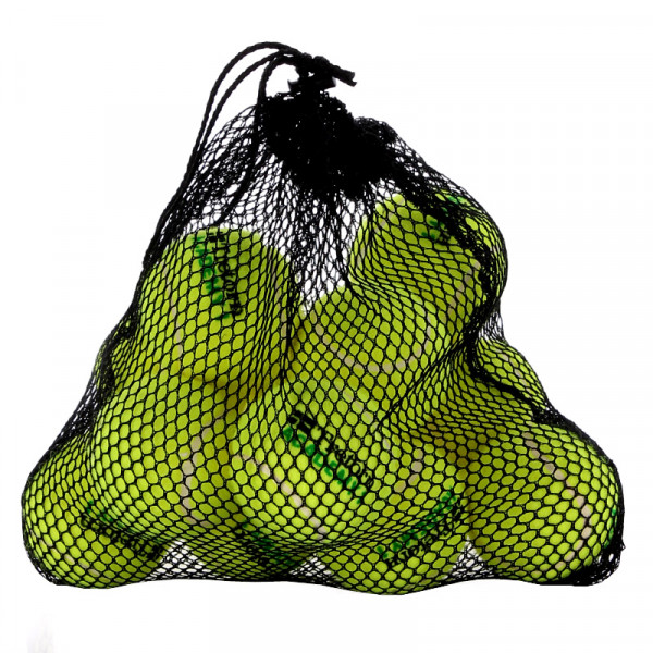 Juunioride tennisepallid Tretorn Academy Green Bag 12B