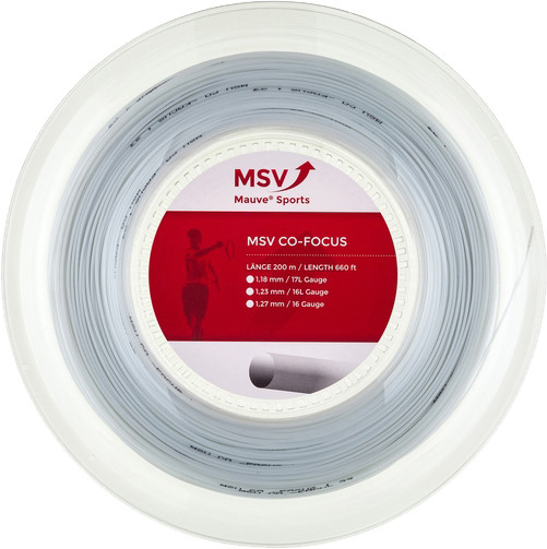 Tennisekeeled MSV Co. Focus (200 m) - white