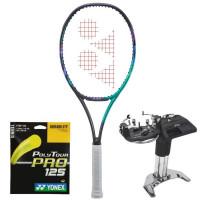 Tenisa rakete Yonex VCORE Pro 100 L (280g) - green/purple  + stīgas + stīgošanas pakalpojums
