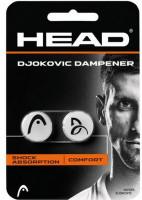 Wibrastopy Head Djokovic Dampener - white/black