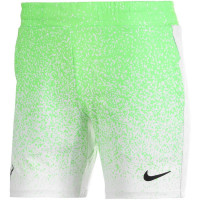 Męskie spodenki tenisowe Nike Court Rafa Short 7in - green strike/black