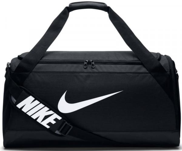 Tenis torba Nike Brasilia Medium Duffel - black/black/white