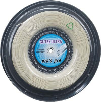 Tennis String Pro's Pro Gutex Ultra (200 m) - natural
