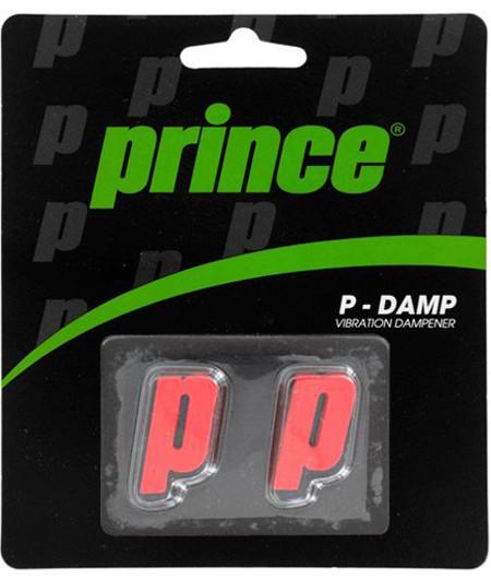 Tenisa vibrastopi Prince P-Damp - red