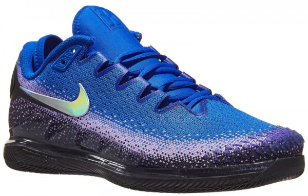 Męskie buty tenisowe Nike Air Zoom Vapor X Knit - black/multi-color/racer blue