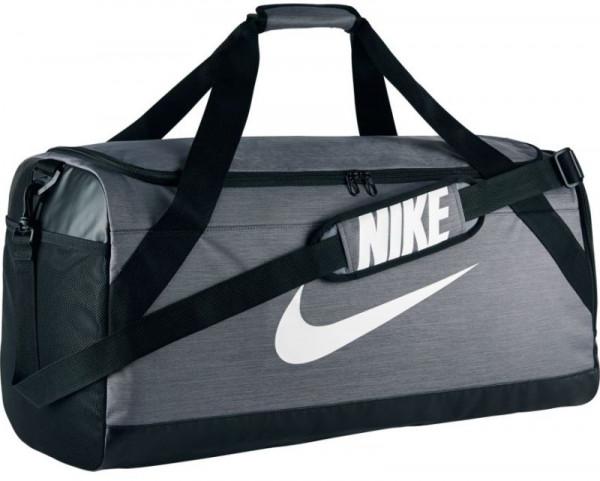 Nike Brasilia Large Duffel - flint grey/black/white