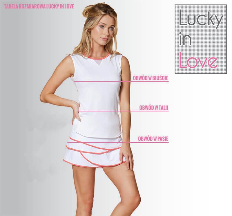 Lucky in love - tabela rozmiarowa