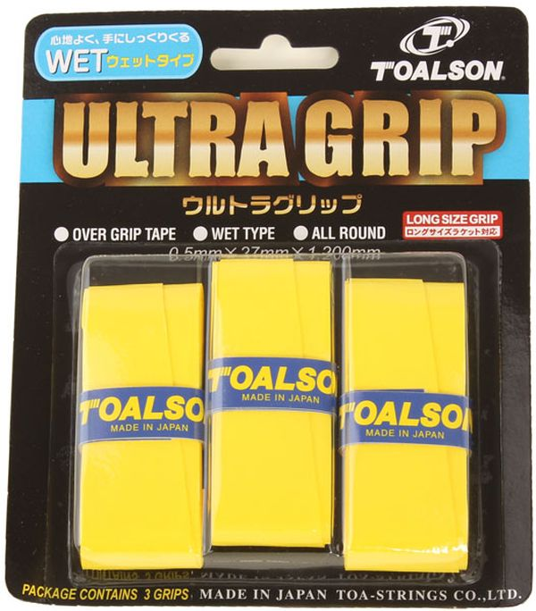Toalson UltraGrip (3 szt.) - yellow
