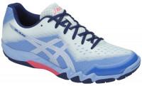 Damskie buty do squasha Asics Gel-Blade 6 - blue bell/silver
