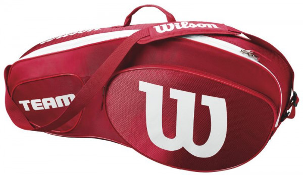 Wilson Team III 3 Pack Bag - red/white