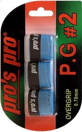 Viršutinės koto apvijos Pro's Pro P.G. 2 (3 vnt.) - blue