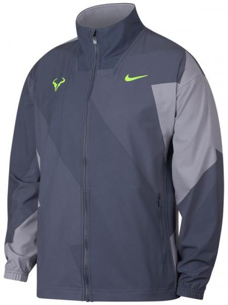 Męska bluza tenisowa Nike Court M Rafa Jacket light carbonvolt glow