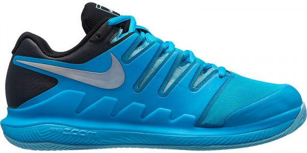 Nike WMNS Air Zoom Vapor X Clay - lt blue fury/multi-color