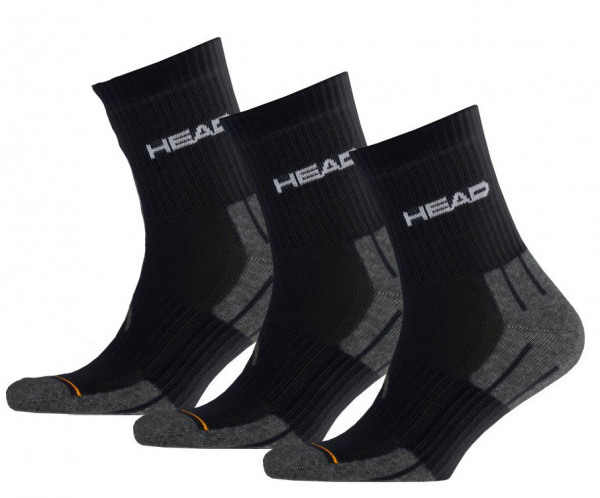 Socks Head Performance Short Crew - 3 pary/black