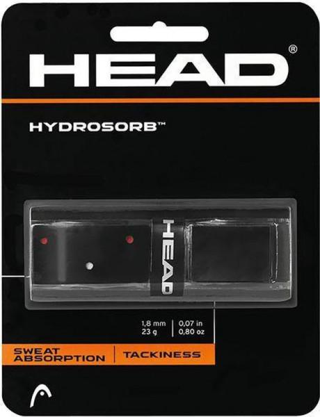 Owijki tenisowe bazowe Head Hydrosorb black 1P