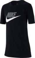 Marškinėliai berniukams Nike Swoosh Tee Futura Icon TD - black