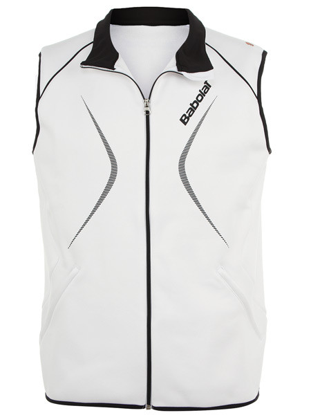 Babolat Gilet Club Men - white/navy