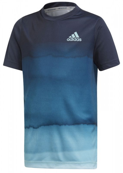 T shirt Adidas B Parley PR Tee legend ink