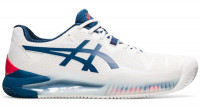 Męskie buty tenisowe Asics Gel-Resolution 8 Clay - white/mako blue