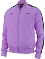 Męska bluza tenisowa Nike Court Rafa Jacket - bright violet/black