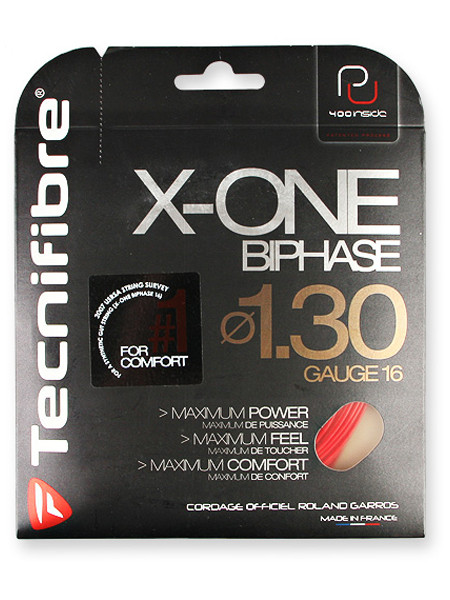 Tenisa stīgas Tecnifibre X One Biphase (12 m) - red