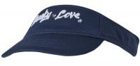 Daszek tenisowy Lucky in Love Mesh Visor - navy