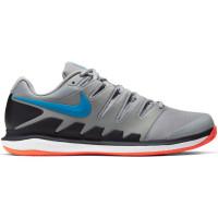 Nike Air Zoom Vapor X Clay - light smoke grey/blue hero